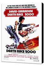 Death Race 2000 - 27 x 40 Movie Poster - Style A - Museum Wrapped Canvas