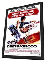 Death Race 2000 - 11 x 17 Movie Poster - Style A - in Deluxe Wood Frame