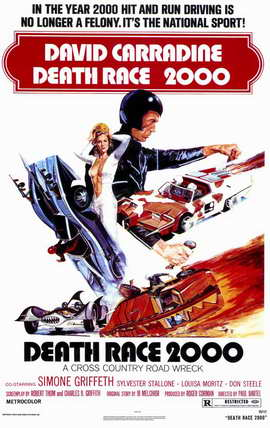 Death Race 2000 - 11 x 17 Movie Poster - Style A