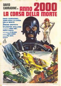Death Race 2000 - 39 x 55 Movie Poster - Italian Style A
