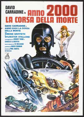 Death Race 2000 - 27 x 40 Movie Poster - Italian Style B