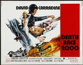 Death Race 2000 - 22 x 28 Movie Poster - Half Sheet Style A