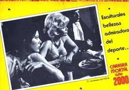Death Race 2000 - 27 x 40 Movie Poster - Spanish Style A
