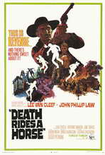 Death Rides a Horse - 27 x 40 Movie Poster - Style A