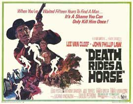 Death Rides a Horse - 11 x 14 Movie Poster - Style A