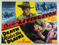 Death Rides the Plains - 11 x 14 Movie Poster - Style B