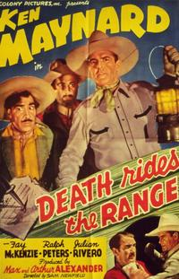 Death Rides the Range - 11 x 14 Movie Poster - Style A
