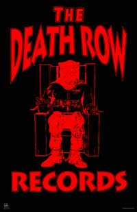 Death Row Records - Music Poster - 22 x 34 - Style A