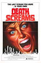Death Screams - 11 x 17 Movie Poster - Style A