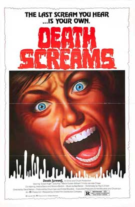 Death Screams - 27 x 40 Movie Poster - Style A
