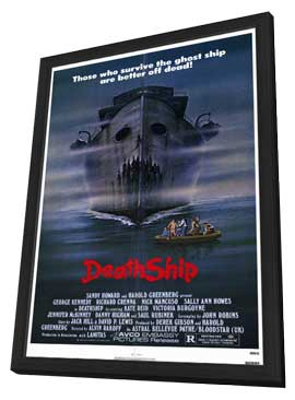 Death Ship - 11 x 17 Movie Poster - Style A - in Deluxe Wood Frame