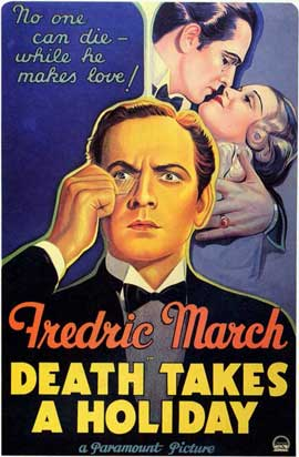 Death Takes a Holiday - 11 x 17 Movie Poster - Style A