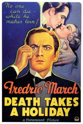 Death Takes a Holiday - 27 x 40 Movie Poster - Style A