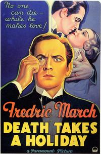 Death Takes a Holiday - 43 x 62 Movie Poster - Bus Shelter Style A