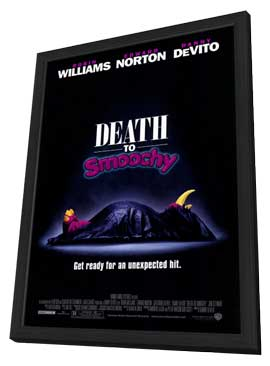 Death to Smoochy - 27 x 40 Movie Poster - Style A - in Deluxe Wood Frame