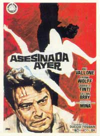 Death Took Place Last Night - 11 x 17 Movie Poster - Spanish Style A