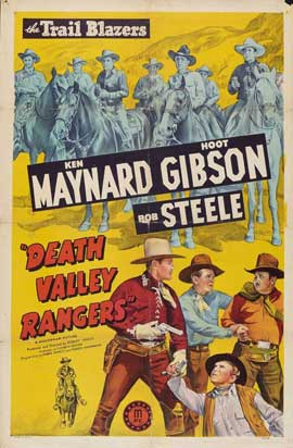 Death Valley Rangers - 27 x 40 Movie Poster - Style B