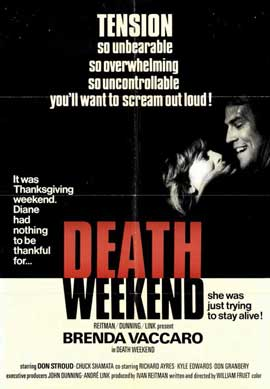 Death Weekend - 11 x 17 Movie Poster - Style A