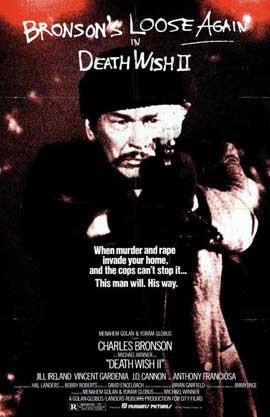 Death Wish 2 - 11 x 17 Movie Poster - Style A