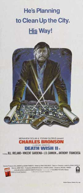 Death Wish 2 - 13 x 30 Movie Poster - Australian Style A