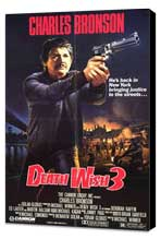 Death Wish 3 - 11 x 17 Movie Poster - Style A - Museum Wrapped Canvas