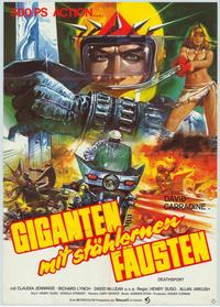 Death Sport - 11 x 17 Movie Poster - German Style A