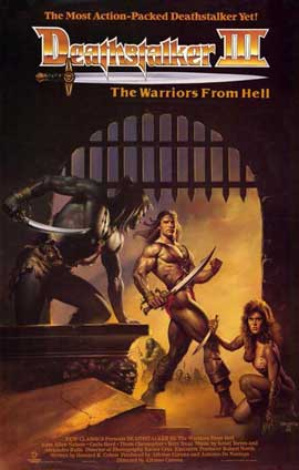 Deathstalker 3 - 11 x 17 Movie Poster - Style A