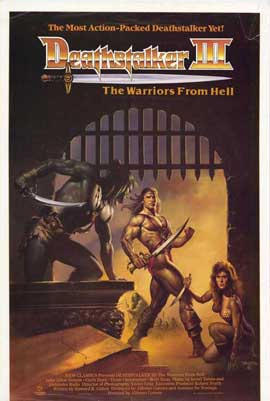 Deathstalker 3 - 27 x 40 Movie Poster - Style A