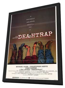 Deathtrap - 11 x 17 Movie Poster - Style A - in Deluxe Wood Frame