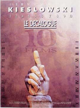 Decalogue - 11 x 17 Poster - Foreign - Style A