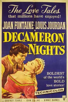 Decameron Nights - 11 x 17 Movie Poster - Style A