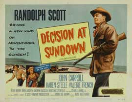 Decision At Sundown - 11 x 14 Movie Poster - Style A