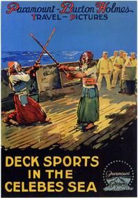 Deck Sports in the Celebes Sea - 11 x 17 Movie Poster - Style A