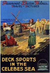 Deck Sports in the Celebes Sea - 27 x 40 Movie Poster - Style A