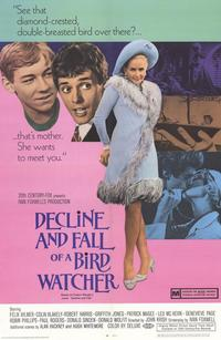 Decline and Fall of a Bird Watcher - 43 x 62 Movie Poster - Bus Shelter Style A