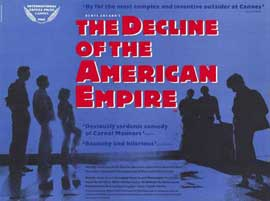 The Decline of the American Empire - 11 x 17 Poster - Foreign - Style A