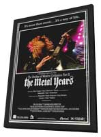 Decline of Western Civilization 2: The Metal Years - 11 x 17 Movie Poster - Style A - in Deluxe Wood Frame