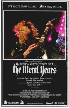 Decline of Western Civilization 2: The Metal Years - 11 x 17 Movie Poster - Style A