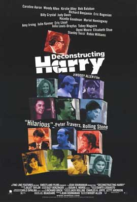 Deconstructing Harry - 11 x 17 Movie Poster - Style B