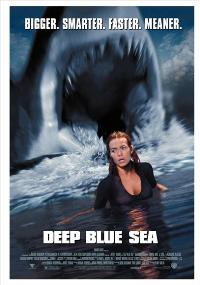 Deep Blue Sea - 43 x 62 Movie Poster - Bus Shelter Style A