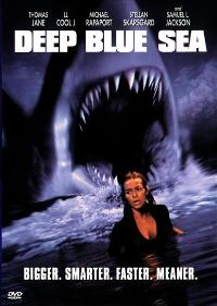 Deep Blue Sea - 27 x 40 Movie Poster - Style B