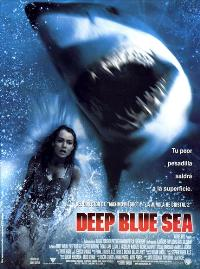 Deep Blue Sea - 11 x 17 Movie Poster - Spanish Style A
