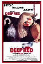 Deep Red - 27 x 40 Movie Poster - Style A