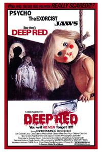 Deep Red - 43 x 62 Movie Poster - Bus Shelter Style A