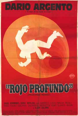 Deep Red - 27 x 40 Movie Poster - Spanish Style A