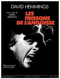 Deep Red - 11 x 17 Movie Poster - French Style A