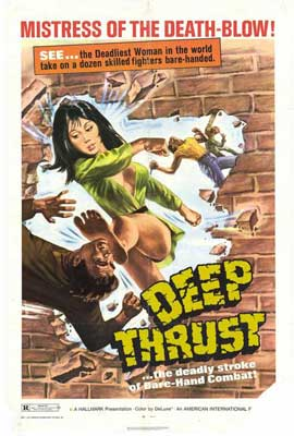 Deep Thrust, test - 27 x 40 Movie Poster - Style A