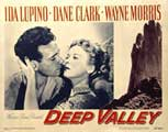 Deep Valley - 11 x 14 Movie Poster - Style A
