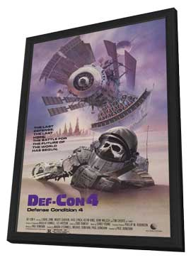 Def-Con 4 - 11 x 17 Movie Poster - Style A - in Deluxe Wood Frame
