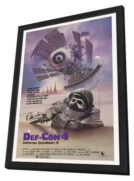Def-Con 4 - 27 x 40 Movie Poster - Style A - in Deluxe Wood Frame